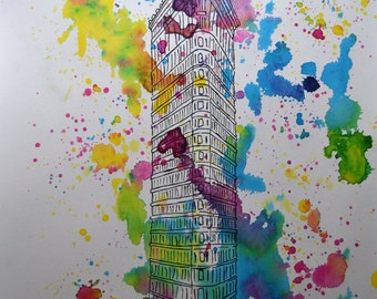 Poster collection - NY BUILDINGS - Flatiron
