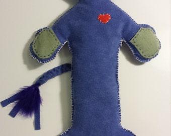 Old Poss - Handmade Cat Rag Doll
