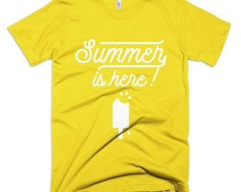 SUMMER - Fine Jersey Short Sleeve T-Shirt