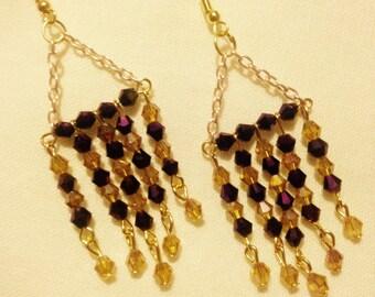 Beaded Dangle Earings