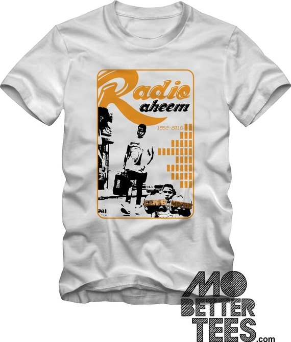 Radio Raheem White T-Shirt Do The Right Thing A Spike Lee Joint 1989 LOVE HATE 9 colorways choose one
