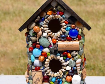 Two-Story Bird House 1