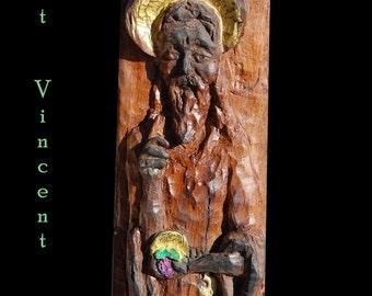 Saint Vincent sculpture