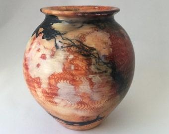Burnished Saggar Fired Pot