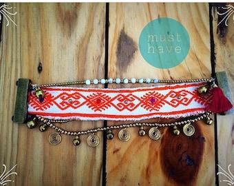 Bracelet Boho - Chiapas - (orange)