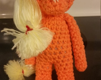 "My Little Pony Applejack ""Hearth's Warming Eve"" crochet doll"