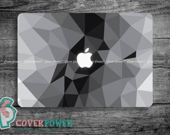 Abstract Geometric MacBook Decal Triangle MacBook Air Sticker MacBook Pro Skin Macbook Cover Vinyl Macbook Pro Decal Fits Any Laptop KL51
