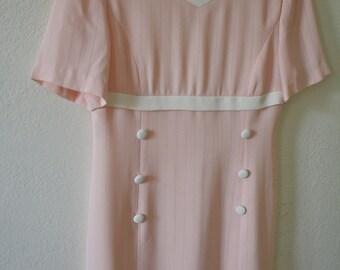 Vintage light pink dress