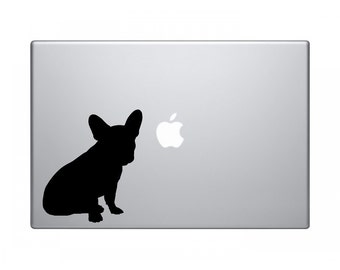 french bulldog decal, french bulldog Sticker, dogs car Decal, dog macbook or Wall Stickers, bulldog wall sticker, removable wall decor