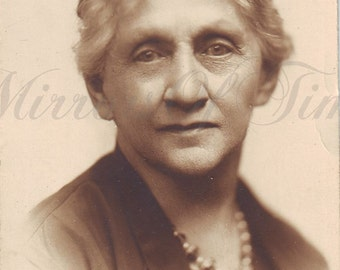 Vintage Photo - Woman Portrait - Old Lady photo - Vintage Snapshot - Polish Photo - Mother photo - Portrait Photo