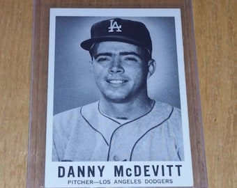 VINTAGE 1960 Sports Novelties DANNY McDEVITT  Gd-Vg