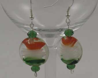 Irish Glass Blown Earrings