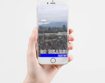 Tailgate Party Snapchat Geofilter Made To Order With Your Favorite Team