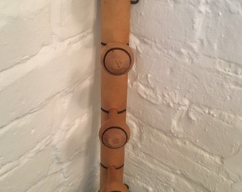 Vintage French Wooden Coat Hooks