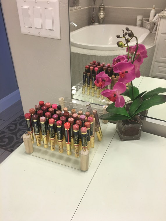 Lipsense Display Compatible Arcylic Lip Gloss Cosmetic Holder
