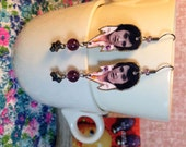 Elvis Presley Earrings Las Vegas Hunka Hunka Burnin Love