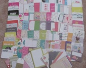 Journal Cards Inspiration Kit  ***Includes 140+ Project Life cards and embellishments