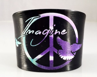 Imagine Bracelet - Cuff - Tie-Dye