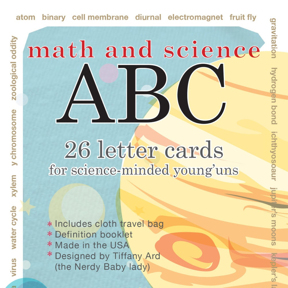 Baby Gifts For Nerdy Parents : Nerdy baby abc flash cards by electricboogaloo on etsy
