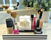 Makeup Organizer - Custom Makeup Organizer - Cosmetic Organizer - Personalized Makeup Organizer- Acrylic Makeup Organizer- Acrylic Organizer