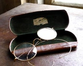 1920s Round Reading Eyeglasses