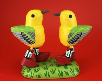 two-stepping warblers