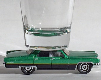 The ORIGINAL Hot Shot, Shot Glass, '69 Cadillac Sedan Deville, Hot Wheel car