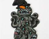 Shoggoth Snowman Ornament