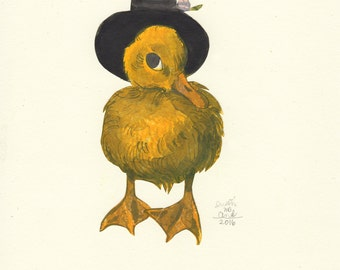 Baby Duck Number Two (original drawing, 2016)