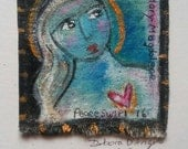 Mary Magdalene Compassionate Heart original painting