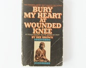 Bury My Heart At Wounded Knee paperback / 1978 / American Indian history