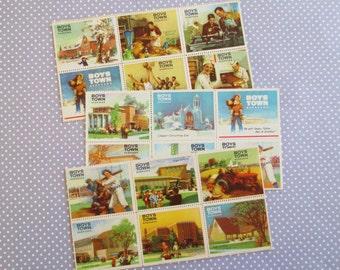 75 Large Vintage Boys Town Nebraska Stamps