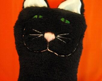 Halloween Snuggle Kitty - RTS ready to ship