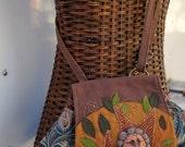 Spider Grandmother Spirit Bag Mixed Media Fiber Art Limited Edition Shoulder Bag Purse