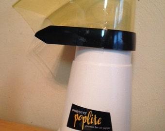 Vintage Presto Poplite Hot Air Popcorn Popper / Coffee Bean Roaster 1980's