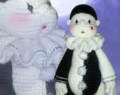 33 - Little Pierrot - (Crochet Pattern)