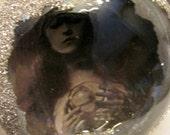 Vintage Style Halloween Ornaments, Raven, Tombstone, Gypsy, Autopsy, Bat, All Seeing Eye