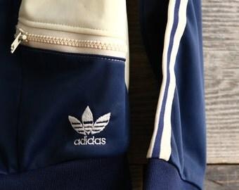 SALE - Vintage ADIDAS 3 Stripe Jacket