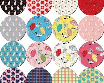Radiant Girl Fabric by Lecien - fat quarter bundle 16-pc set