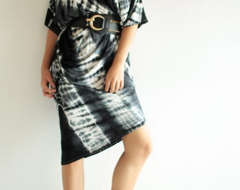 Tie dye short spandex TD dress fit for M,L