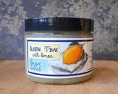 Sleepy Time with Lemon Sugar Scrub 8 oz - Spearmint, Chamomile, and Lemon Tea
