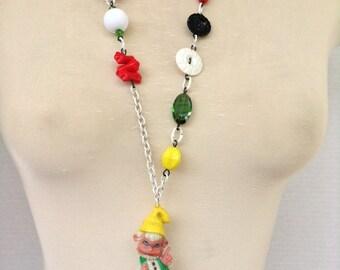 Garden Gnome Necklace