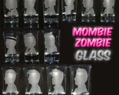 Doctor Who Set of 13 Etched Shot Glasses