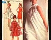 Vintage COCKTAIL DRESS Sewing Pattern - 1960s Simplicity Evening Slip Sheath Dress 7310