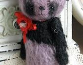 Poppy Panda by Woollybuttbears 4.3 inches
