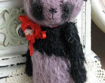 SALE Poppy Panda by Woollybuttbears 4.3 inches