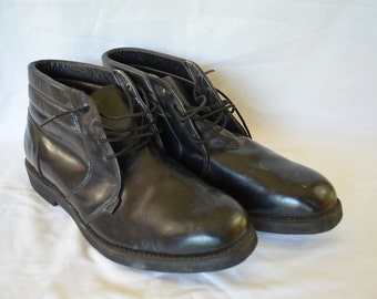 sale Vintage MASON WORK BOOTS Chukka size 10.5 E made in usa chippewa falls wisconsin