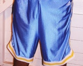 Vintage Adidas Ucla Bruins Blue Basketball Shorts XL
