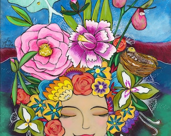 Print : Abundance Goddess