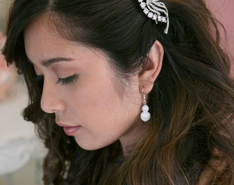 Wedding hair comb, bridal hair accessories, wedding rhinestone hair comb, bridal hair comb crystal ,wedding headpieces,wedding comb